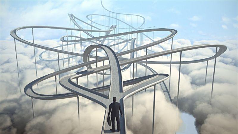 El camino hacia una nueva carrera no siempre es lineal, ni directo.